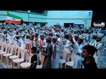 Independence Day Celebrated By Muslim Madarsa